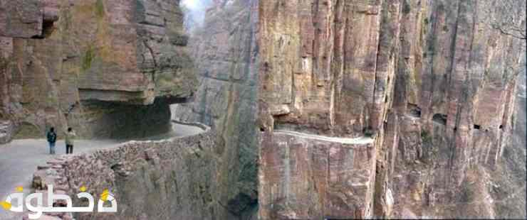 """القيادة بطريق نفق جولينغ""""جبال تايهانغ- الصين"""""""