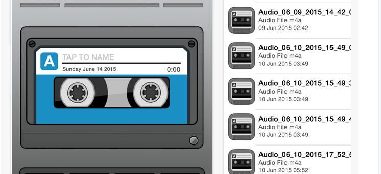 تطبيق Voice Recorder
