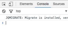 اظهار Console في متصفح جوجل كروم