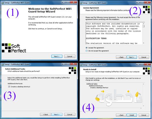 كيف تعرف المتصلين معك بنفس الشبكة باستخدام برنامج Wifi Guard 2