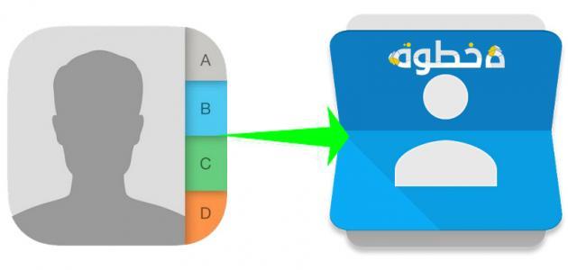 مزامنة جهات الاتصال في هاتفك الأندرويد مع حسابك على Gmail