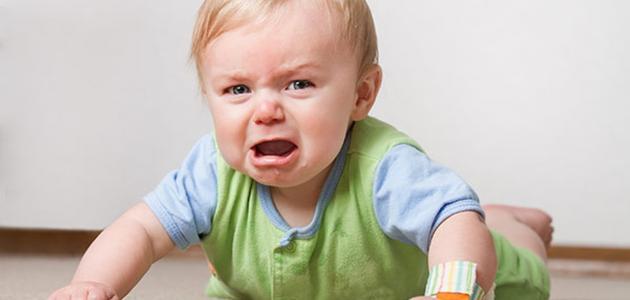 اسباب هامه تؤدي إلى بكاء طفلك باستمرار