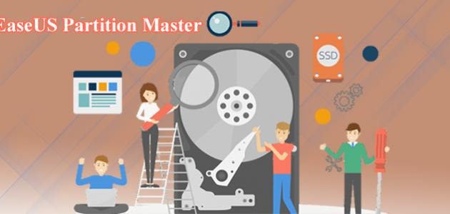 تحرير مساحة اقسام الهارد بدون فورمات ببرنامج Partition Master