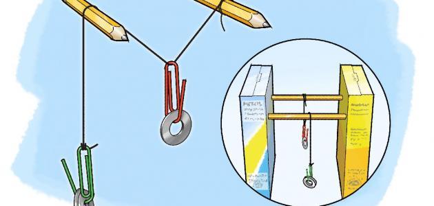 ما الآلة البسيطة التي تستخدم في رفع الستائر ؟