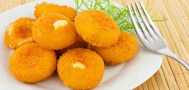 كروكيت البطاطا بالجبن